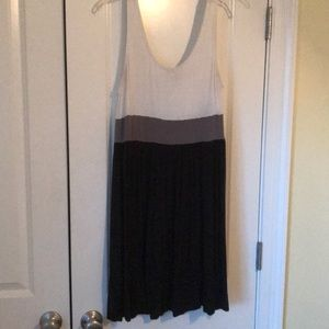 Color-block tank dress